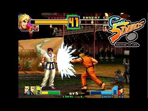 """THE KING OF FIGHTERS 2001 PLUS HACK - """"CON 5 DUROS"""" Episodio 490 (Especial 2 Jugadores) (1cc) (CTR)"""