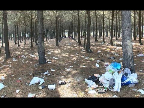 İstanbul'da Utandıran Görüntü! Piknikçilerden Geriye Çöp Yığınları Kaldı
