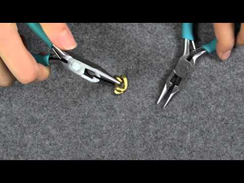 Project DIY's How To Open Chain with flat pliers