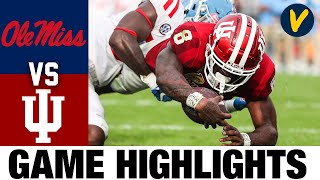 Ole Miss vs #11 Indiana Highlights | 2021 Outback Bowl Highlights| College Football Highlights