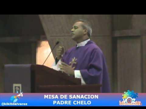 MISA DE SANACION PADRE CHELO EN LA BASILICA DE HIGUEY