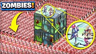*NEW* ZOMBIE-INFECTED Custom Gamemode in Fortnite Playground V2 Mode! (Battle Royale)