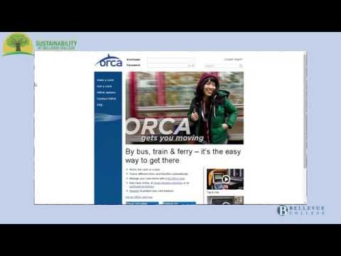 How to register your Bellevue College Orca card