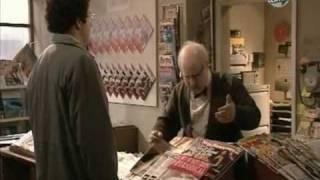 Mr. Mann will eine Zeitschrift kaufen