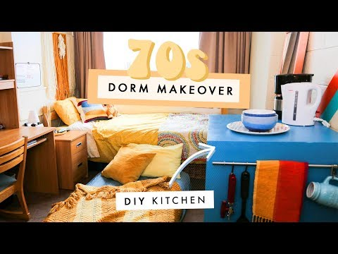 DIY kitchen in your DORM ROOM!