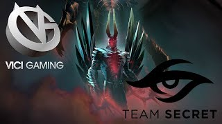 Team Secret VS Vici Gaming - The Kuala Lumpur Major