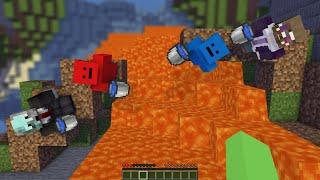 Minecraft but If I Die My Friends LOSE