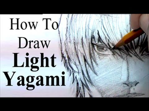Speed Drawing Chibi L Lawliet Death Note Death Note Video
