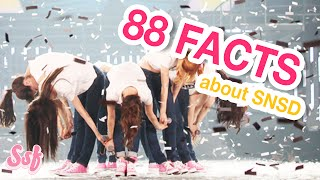 88 SNSD (Girls' Generation) Facts YOU Must Know!  l @Soshified