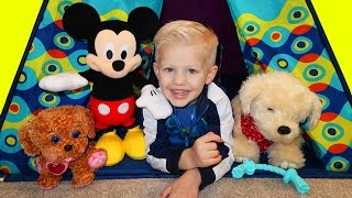 Georgie Puppy & Mickey Mouse Playtime with Family Fun Pack
