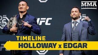 UFC 240 Timeline: Max Holloway vs. Frankie Edgar - MMA Fighting