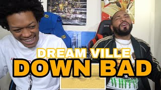 Dreamville - Down Bad ft. JID, Bas, J. Cole, EARTHGANG & Young Nudy (Official Audio) | FVO REACTION