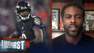 Lamar Jackson needs to lean into the pressure to succeed — Michael Vick | NFL | FIRST THINGS FIRST