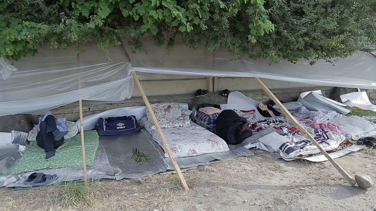 Лагерь в Кулларе: месяцы ожидания по пути домой