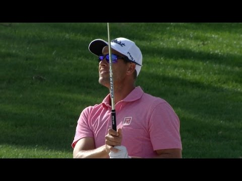 Adam Scott?s fantastic bunker approach at The Honda Classic