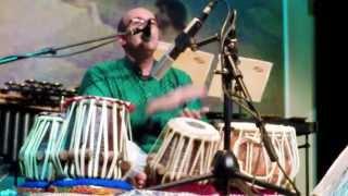 Shawn Mativetsky - Benarsi Tabla Solo in Teentaal (excerpt from madhya laya section)