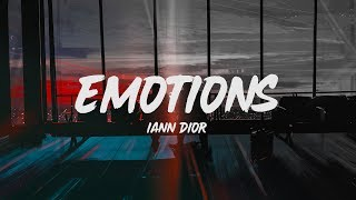Iann Dior - Emotions (Lyrics)
