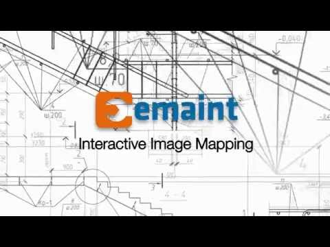 eMaint's Interactive Image Mapping Tool