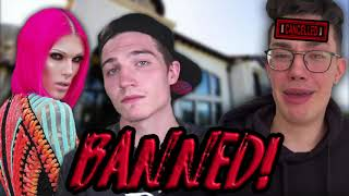 Jeffree Star BANNED James Charles from his Home!! (Exclusive Receipts)
