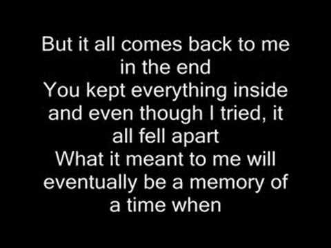 Baixar In the end - Linkin Park (with lyrics)