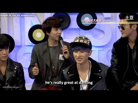 ENGSUB Kyuhyun talks about the members' flaws