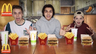 THE BIG MAC MEAL CHALLENGE!