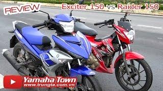 Exciter 150 đọ dáng Raider 150 ▶ So sánh tổng quan, test tiếng pô