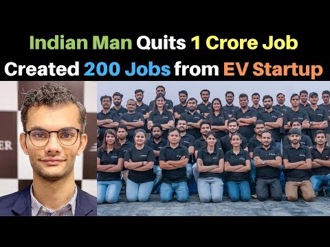 Indian Man Quits 1 Crore Job and Started EV Startup - Euler Motors