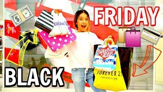 BLACK FRIDAY 2018   No budget shopping vlog 💸💳