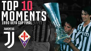 Juventus 3-1 Fiorentina | 1990 UEFA CUP Final | The First All Italian UEFA Cup Final!