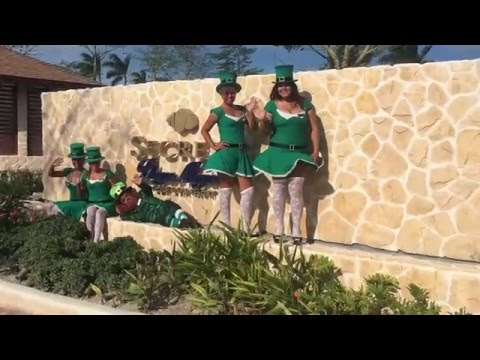 Secrets Playa Mujeres St. Patrick's Day