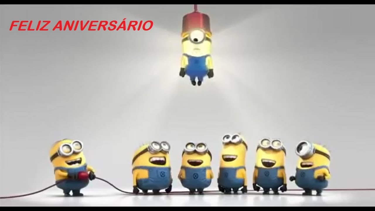 Feliz Aniversario Orkut: Feliz Aniversário Minions