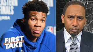 No need to overreact to Giannis walking out of the press conference  – Stephen A. | First Take