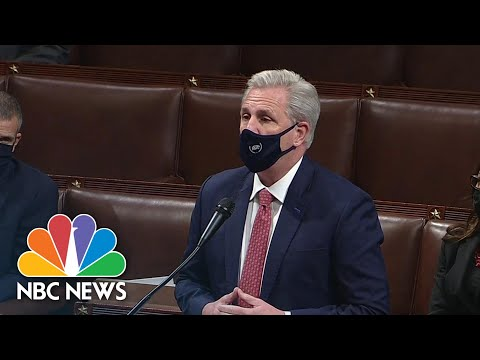 McCarthy Calls For Censure Resolution For President Trump's Actions During Capitol Riot | NBC News