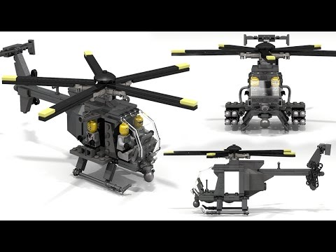 Lego Mh 6 Little Bird Instructions Videomoviles