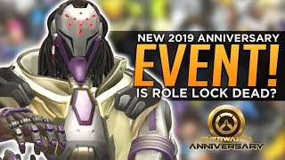 Overwatch: NEW Anniversary Event Details! - Did Blizzard Kill Role Lock?