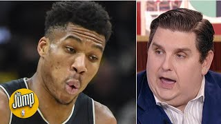 If Giannis doesn't re-sign with the Bucks, the supermax has failed - Brian Windhorst | The Jump