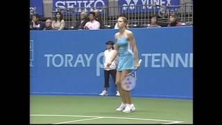 Daniela Hantuchova vs Maria Kirilenko Tokyo 2005