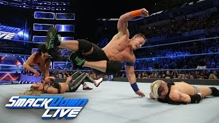 John Cena & Nikki Bella vs. James Ellsworth & Carmella: SmackDown LIVE, March 7, 2017