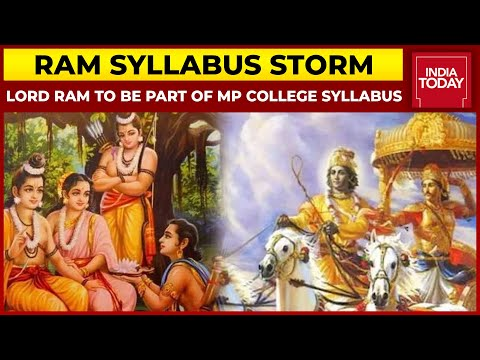 Row Erupts As Madhya Pradesh Government Includes Ramayana, Mahabharata In Engineering Syllabus