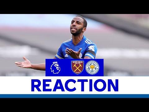 'We Have To Do Better' - Ricardo Pereira   West Ham United 3 Leicester City 2