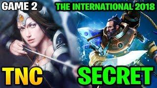 TNC vs SECRET TI8 - THE INTERNATIONAL 2018 - Game 2