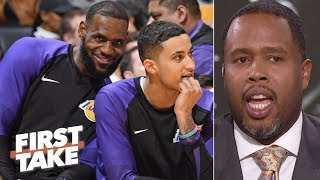 LeBron, Lakers can give Warriors a run for their money – Damon Jones | First Take