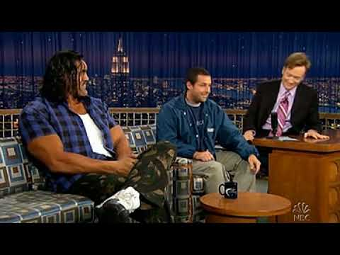 Conan O'Brien 'Adam Sandler & The Great Khali (part-2) 5/26/05