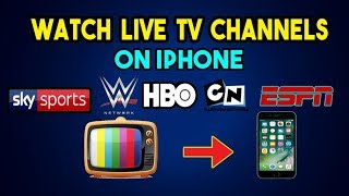 Watch Live Sports channels &  Movies Cable TV FREE iOS 9 / 10 / 11
