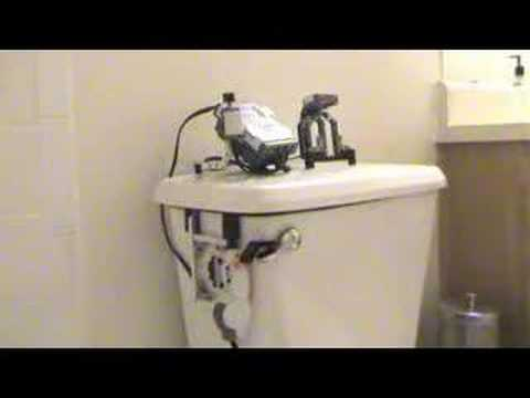 RoboFlush: The Lego Mindstorms NXT Toilet Flushing Robot