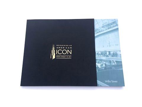 Willis Tower Book | Cool Custom Printing of the Week