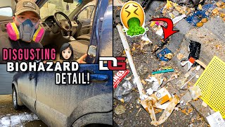 EXTREME Cleaning a Girl's NASTY Car!   Disaster Detailing a Hyundai Tucson