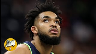 Karl-Anthony Towns is 'as untouchable as they come' in a trade, the Wolves' prez says | The Jump