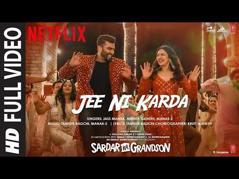 Full Video: Jee Ni Karda song- Sardar Ka Grandson Movie- Arjun Kapoor, Rakul Preet